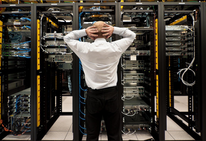 Server-Desaster