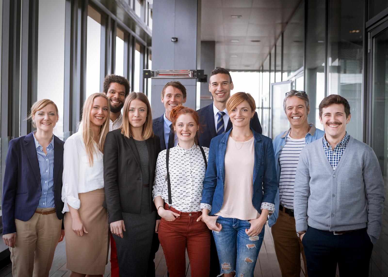 Team - Gruppenfoto