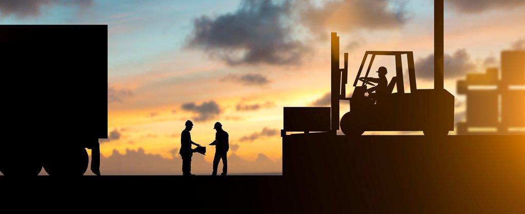 Transportversicherung - Arbeiter