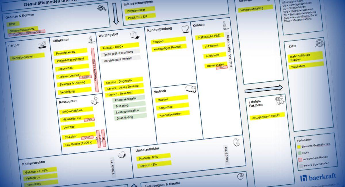 Business Model Canvas - erweitert