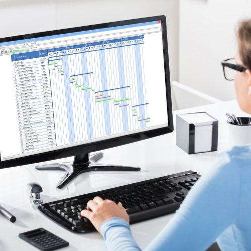Gantt Chart auf PC